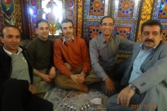 Isfahan with colleagues